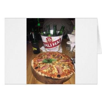 Cartes Bière et pizza de Bali