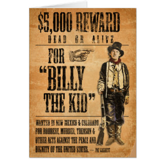Cartes Billy vintage l'enfant