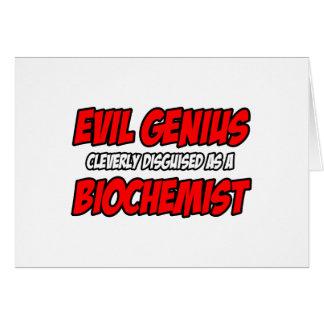 Cartes Biochimiste mauvais de génie…
