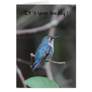 Cartes Birday heureux !