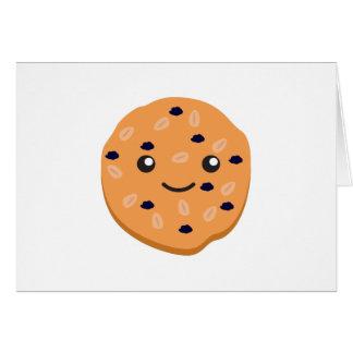 Cartes Biscuit de raisin sec mignon de farine d'avoine