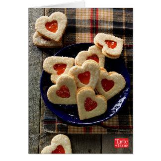 Cartes Biscuits de noix de coco d'amoureux