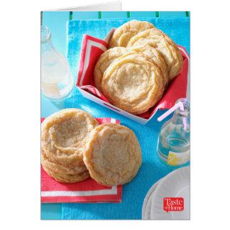 Cartes Biscuits de sucre géants de citron
