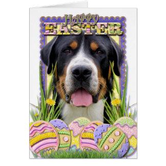 Cartes Biscuits d'oeuf de pâques - un plus grand chien
