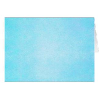Cartes Blanc léger bleu turquoise de modèle d'aquarelle