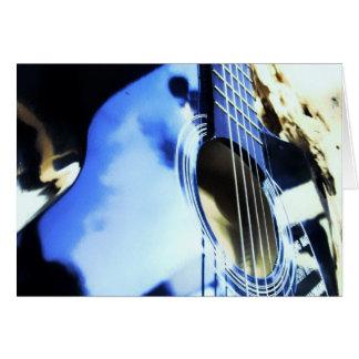 Cartes bleus acoustiques