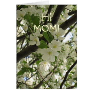 Cartes blossoms7, HiMOM !