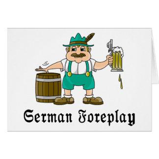 Cartes Boire allemand
