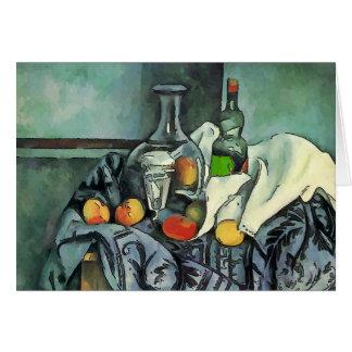 Cartes Bol toujours de la vie de fruit et de vin