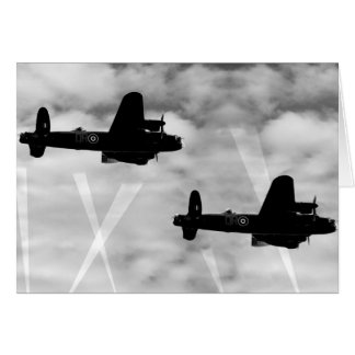 Cartes Bombardier de 2ÈME GUERRE MONDIALE Avro Lancaster