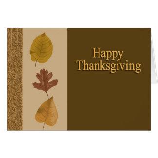 Cartes Bon thanksgiving