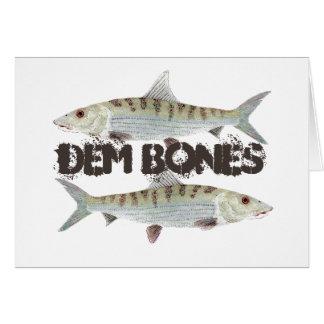Cartes Bonefish d'os de DEM
