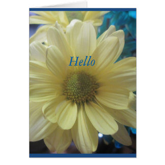 Cartes Bonjour été floral