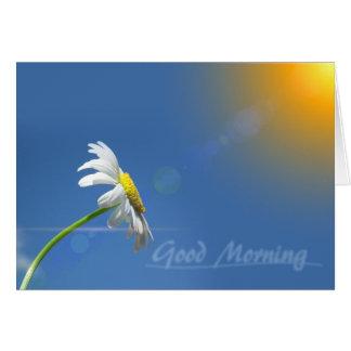 Cartes Bonjour, merci pour apporter le soleil