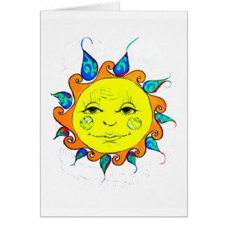 Cartes Bonjour soleil