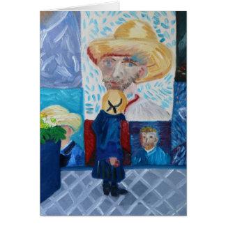 Cartes Bonjour Van Gogh