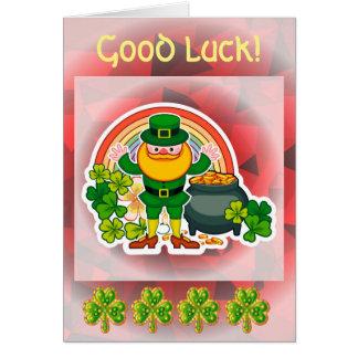 Cartes Bonne chance !