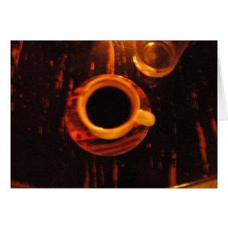 Cartes bonne tasse de café