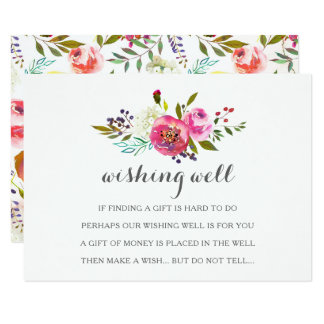 Cartes bonnes de souhait florales d'aquarelle