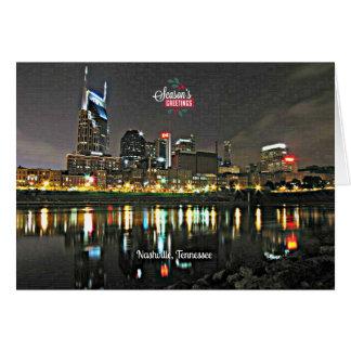 Cartes Bonnes Fêtes de Nashville, Tennessee