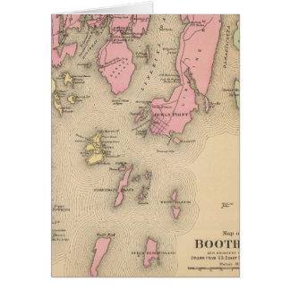 Cartes Boothbay, îles adjacentes