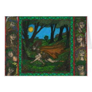 Cartes Bord de la forêt