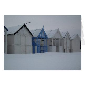 Cartes Bord de la mer d'hiver