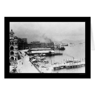 Cartes Bord de mer 1906 de Hong Kong