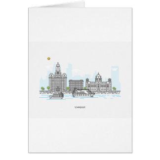 Cartes Bord de mer de Liverpool