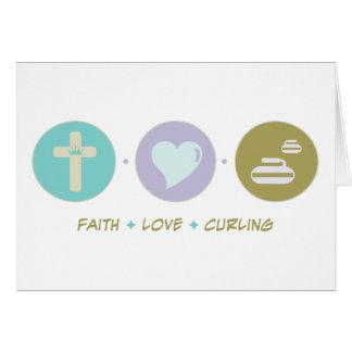 Cartes Bordage d'amour de foi