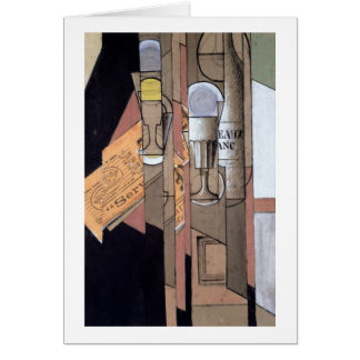 Cartes Bordeaux blanc, 1913 (gouache et crayon sur le