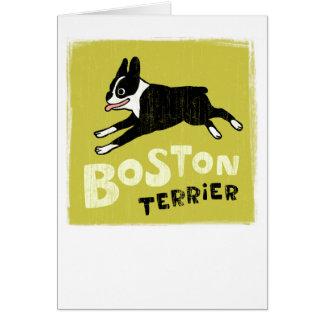 Cartes Boston Terrier
