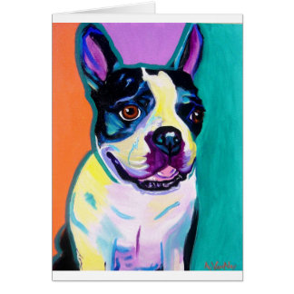 Cartes Boston Terrier