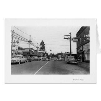 Cartes Bothell, WA - photographie de scène du centre de