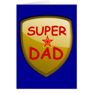 Cartes Bouclier superbe d'or de papa