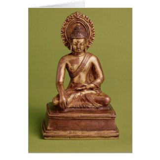 Cartes Bouddha assis