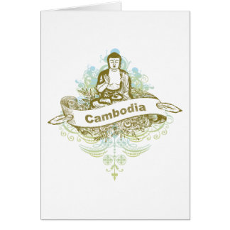 Cartes Bouddha Cambodge