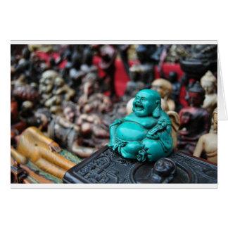 Cartes Bouddha riant heureux !