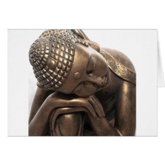 Cartes Bouddha thaïlandais