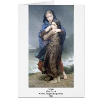 Cartes Bouguereau - L'Orage