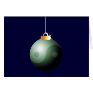 Cartes Boule de Noël de Yin Yang