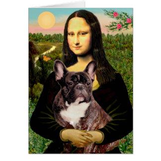 Cartes Bouledogue français (br10) - Mona Lisa