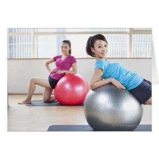 Cartes Boules d'exercice