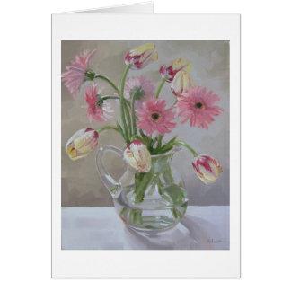 """Cartes """"Bouquet rose """""""
