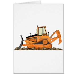 Cartes Bouteur orange