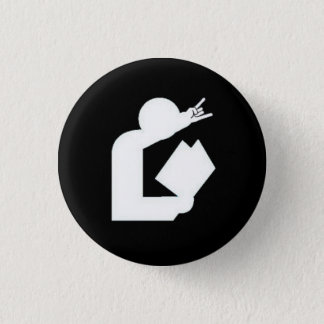 """""""Cartes bouton de logo contre science de la Badges"""