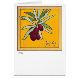 Cartes Branche d'olivier