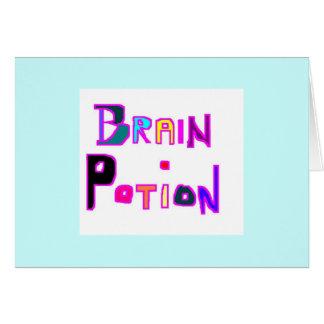 Cartes Breuvage magique de cerveau