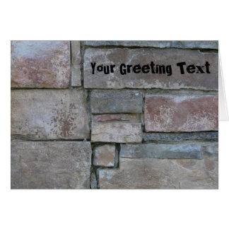 Cartes Brique pour le maçon ou la couche de brique