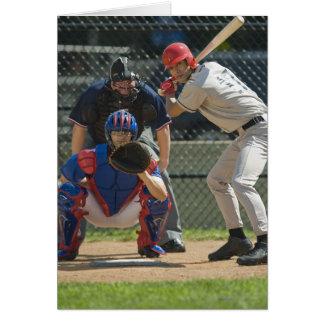 Cartes Broc, pâte lisse et arbitre de base-ball dans prêt